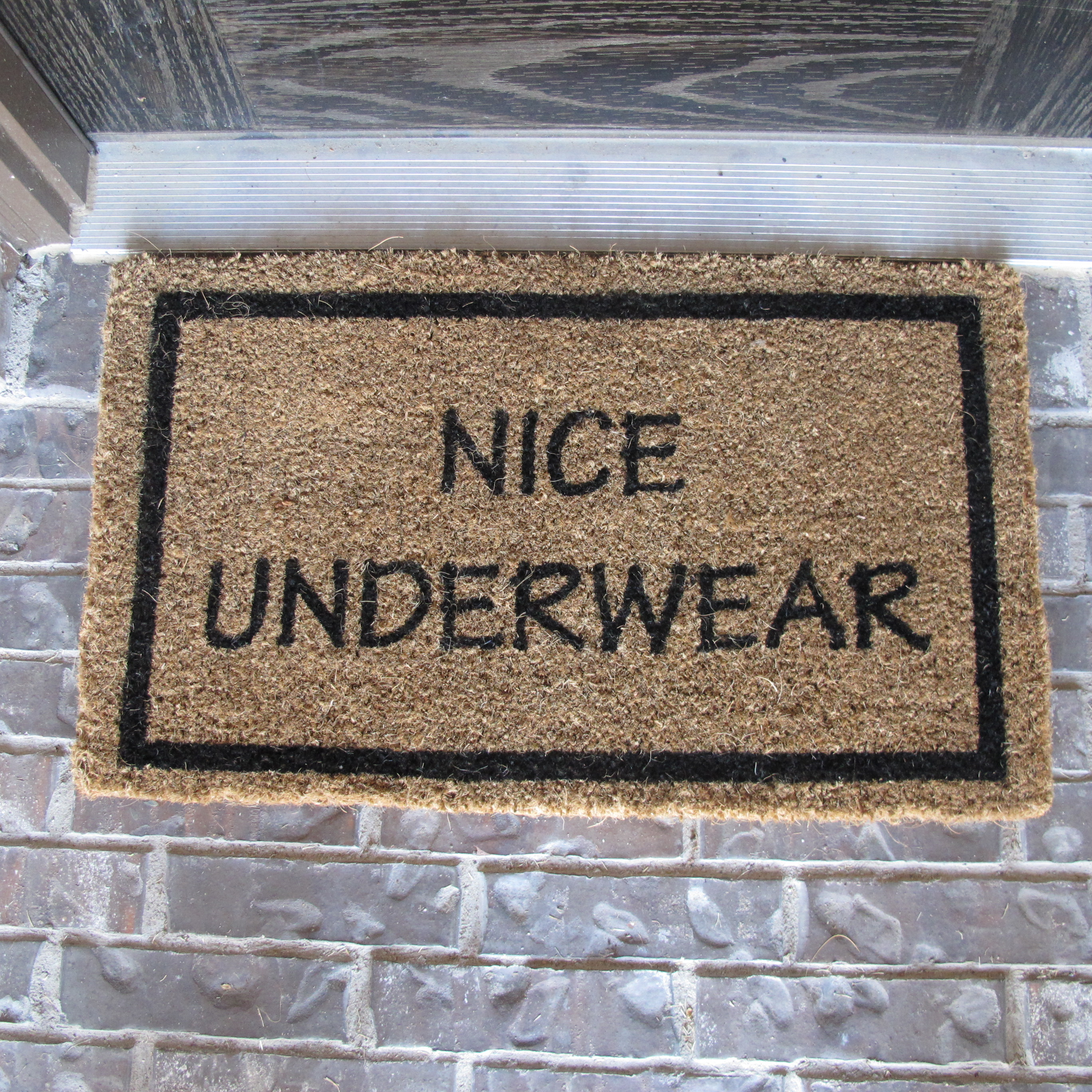 Doormat operation home - Novelty welcome mats ...