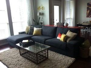 a tale of two sofas operation home. Black Bedroom Furniture Sets. Home Design Ideas