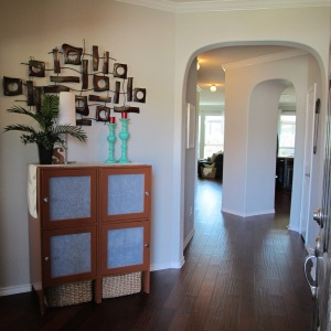 Our Foyer and Hallway