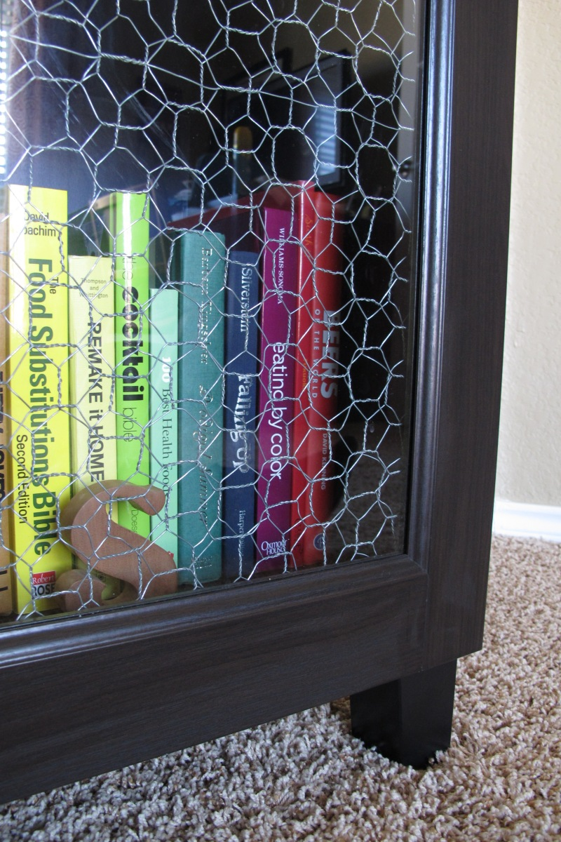 Chicken wire ikea hack