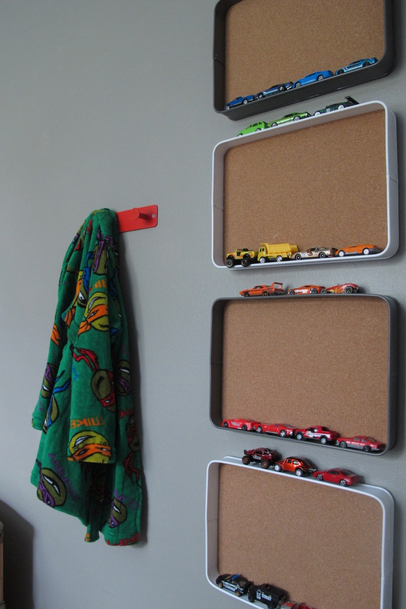 Target Monthly Box: Tray Matchbox Car Organizer